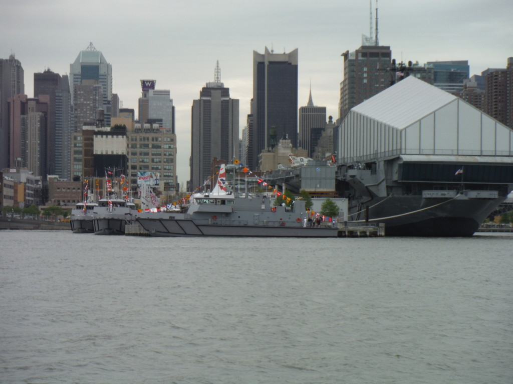 an aircraft carrier that is now a museum