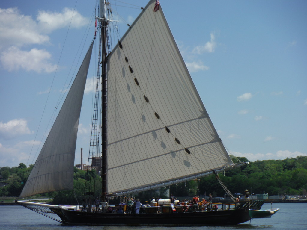 Pete Seeger's environmental project boat The Clearwater
